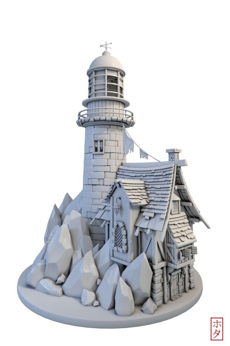 ArtStation - Lighthouse, hota Aisa