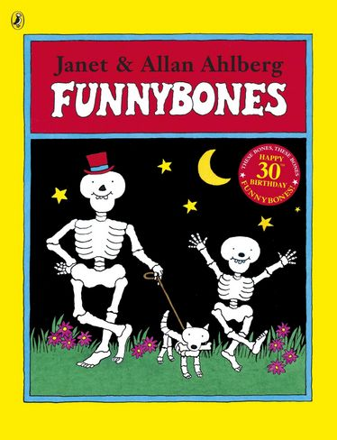 The perfect Halloween reading - Funny Bones by Janet & Allen Ahlberg