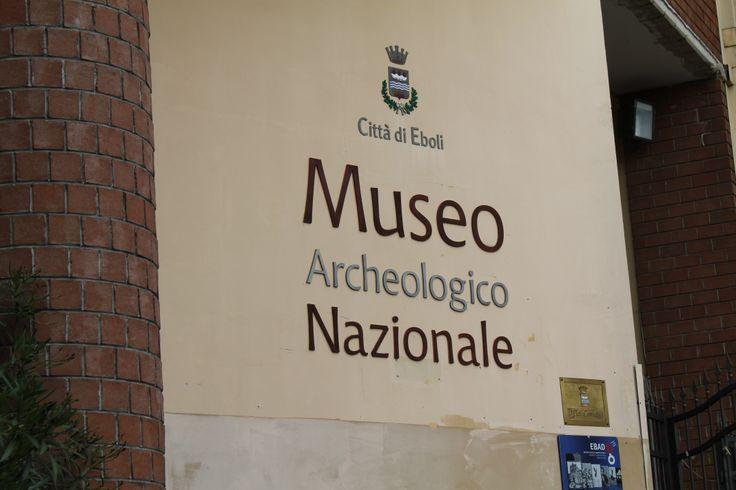 Ingresso del Museo Archeologico Nazionale di #Eboli