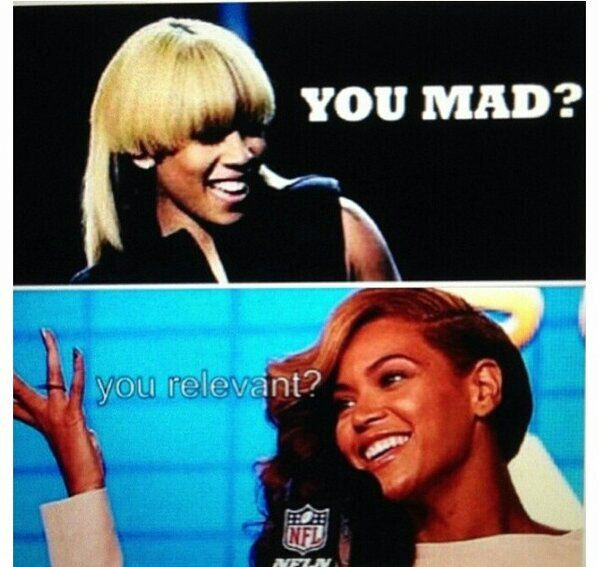 Keyshia Cole Disses Beyonce's Lyrics To Bow Down - NoWayGirl     (Lmfao, at Beyonce's comment back)