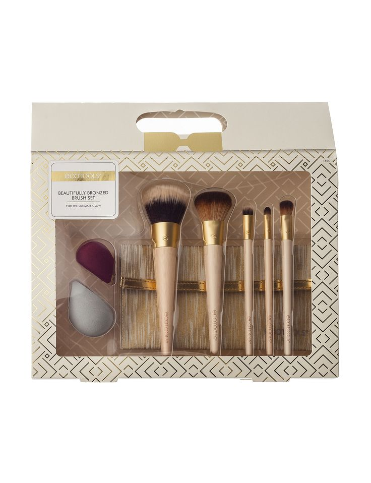 EcoTools 8-pc. Beautifully Bronzed Brush Set pinned from peebles.com