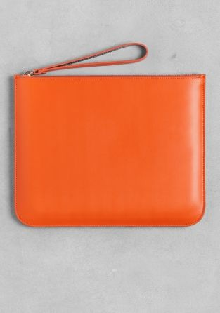 And Other Stories | Leather pouch  | Orange