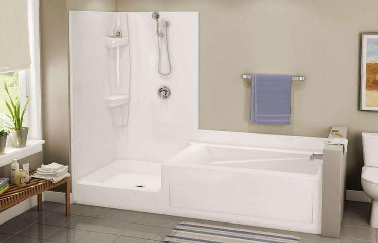 Vasche doccia combinate - Vasca e doccia Exhibit TSC 102 di Maax - per bagno Cla- bruttina ma idea carina