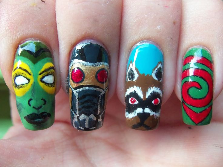 Artists That Totally Nailed Their Pop Culture Nail Art - Hunger ...