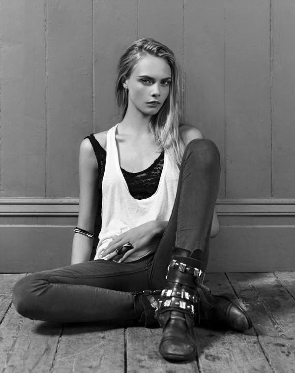 Philguillou Cara Delevingne For Dominic Jones Jewellery Modestil Rocker Schickes Outfit Cara Delevingne