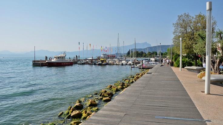 De haven van Bardolino