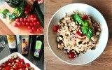 Gevulde courgette met gerookte zalm en geitenkaas! Erg makkelijk te maken, koolhydraatarm en gezond! En ook nog eens weinig ingrediënten!