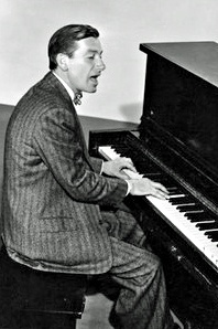 Hoagy Carmichael-1918-1981 composer, pianist, actor and bandleader. Four of the most recording songs of all times are, Star Dust, Georgia on my mind, The Nearness of you, and Heart and Soul. Lazy Bones which was a hit, sold over 350,ooo record in 3 months