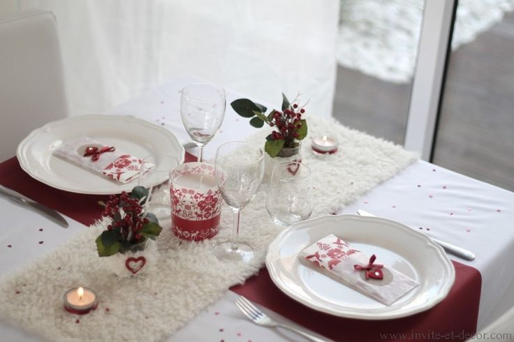 Coffret décor L'Amour en hiver
