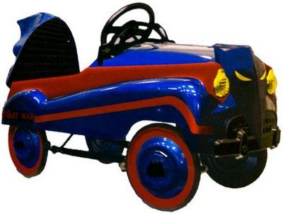 really cool pedal cars | Rare Batman Collectibles From the 1960's, Again!