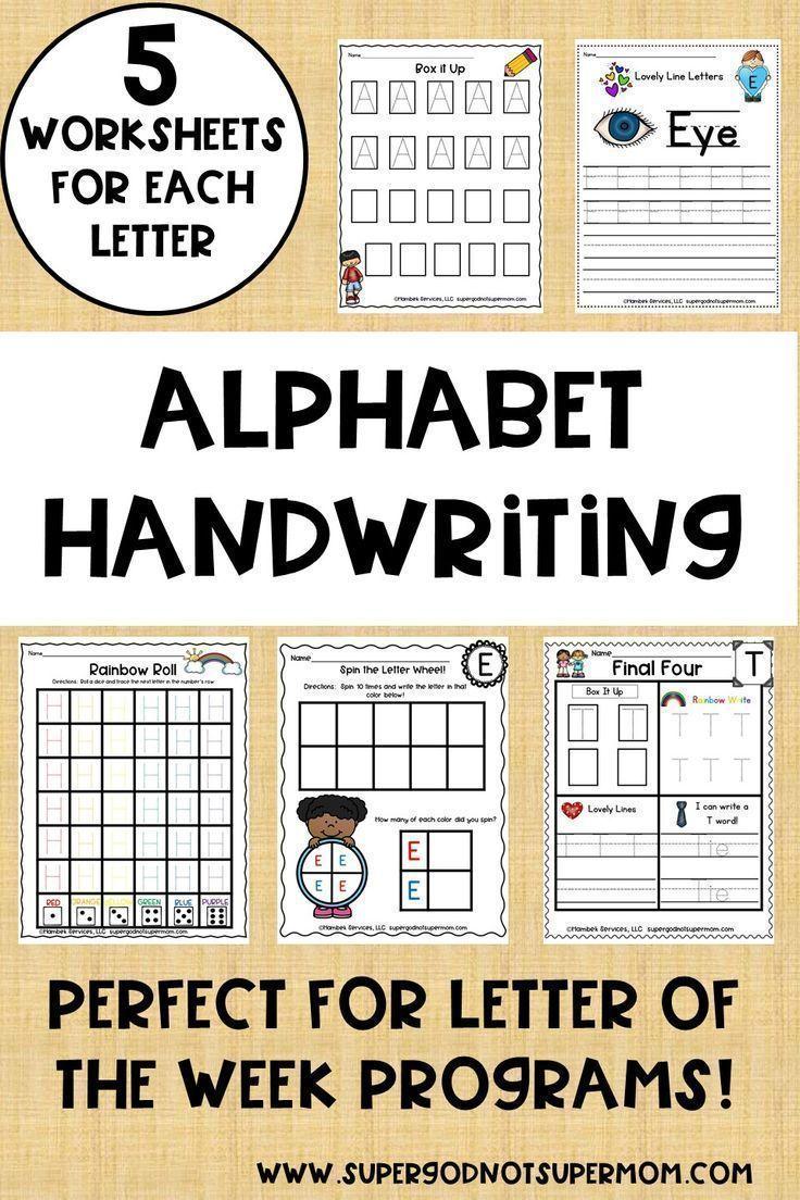 Alphabet Handwriting Worksheets Super God Not Super Mom Handwriting Alphabet Letter Activities Alphabet Activities Preschool [ 1104 x 736 Pixel ]