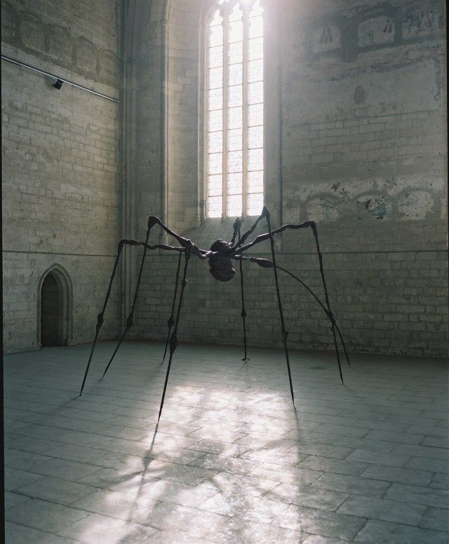 Louise Bourgeois, Maman.                                                                                                                                                     More