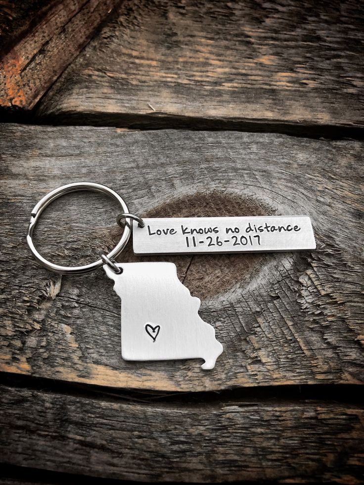 Going away gift, trucker wife gift, trucker gift, going away to college gift, moving away gift, home keychain mothers day gift from daughter