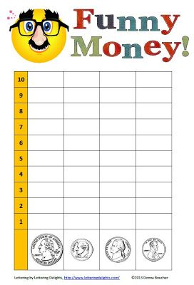 Classroom Freebies: April Fools Day Graph. Here's a fun activity that combines graphing and coin counting. Great for April Fool's Day or any day.