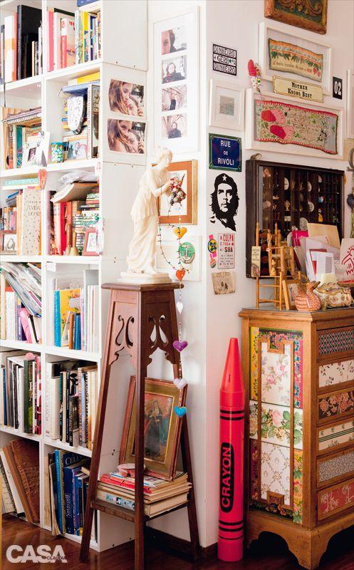 Home Tour: um apartamento Boêmio Chic cheio de história em São Paulo | Casinha colorida