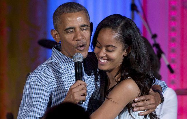 Malia Obama surprise et filmée en train de fumer un joint?
