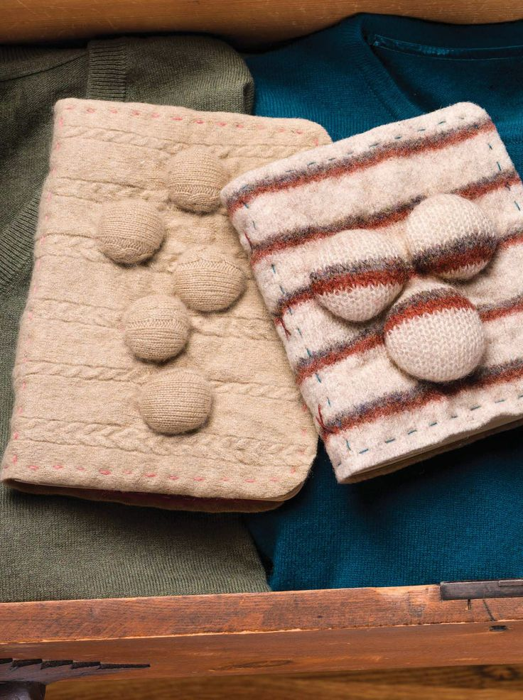Looking for a great gift to make this holiday season? Try Mandy Russell's felted Bubble Book.