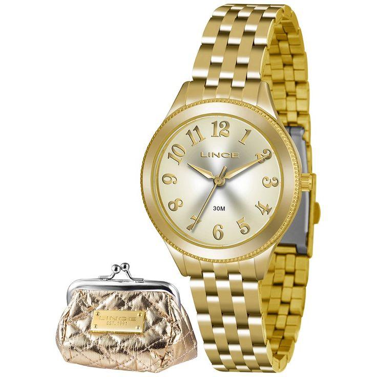 Relógio Feminino Lince Classic - LRG4369L-K182 | Bruna Tessaro Joias - brunatessaro