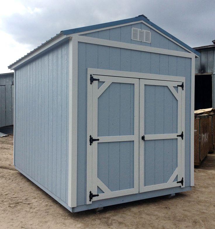garden shed 8x12 by coastal portable buildings - Garden Sheds Florida