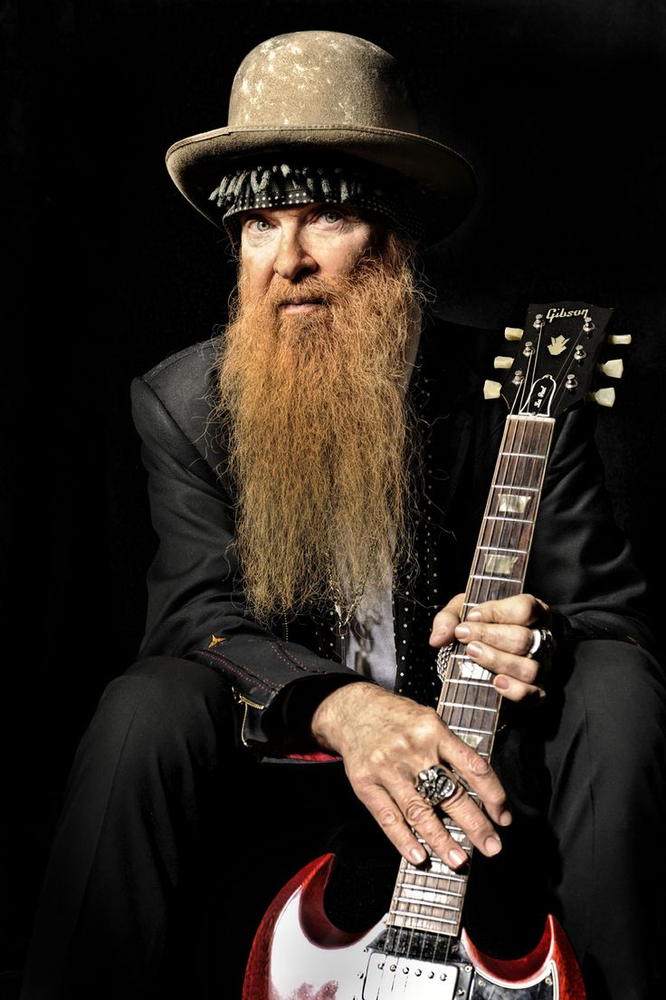 BILLY GIBBONS of ZZ TOP.