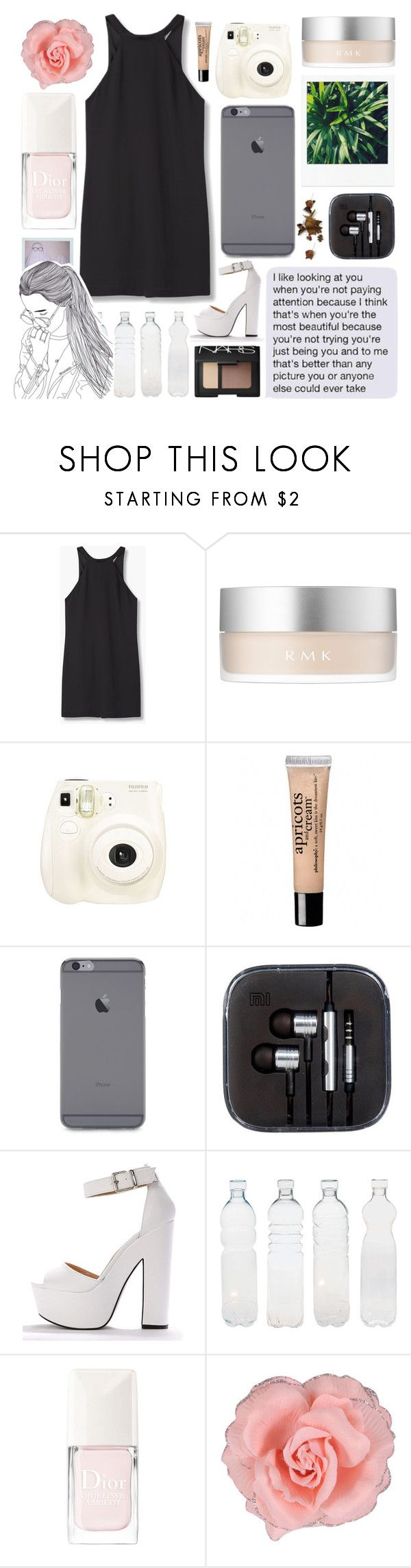 """""""~she's sixteen and sad as so many are~"""" by miss-constellation-of-tears ❤ liked on Polyvore featuring MANGO, RMK, Fujifilm, KEEP ME, philosophy, Seletti, NARS Cosmetics, Christian Dior, Forever 21 and missconstellationoftears"""