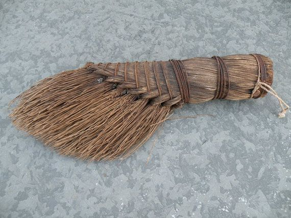 Vintage whisk broom  handmade primitive. Americana by bisforbella, $15.00