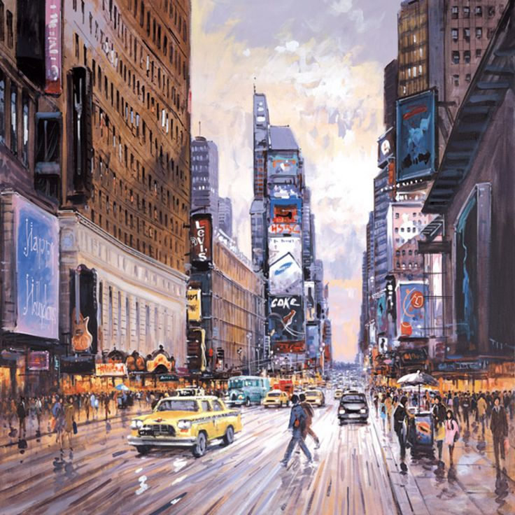 The Crossroads of the World [Henderson Cisz-A350] - $500.00 painting by oilpaintingsartmaker.com