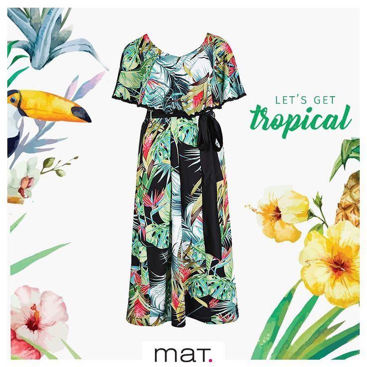 Κλίμα τροπικό μου κλίμα 🌴 💚 Νέα άφιξη: Maxi φόρεμα με υπέροχα prints σε εξωτικό mood! Φόρεσέ το για μια ανεπανάληπτη εμφάνιση! Αγόρασε το φόρεμα ➲ code: 671.7433  #matfashion #tropical #mood #summer2017 #dress #style #realsize #collection #colorful #fashiontrends #plussizefashion #fashionblogger