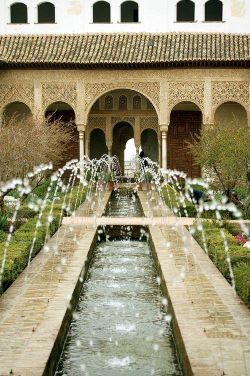 Alhambra Fountains, Granada | Spain