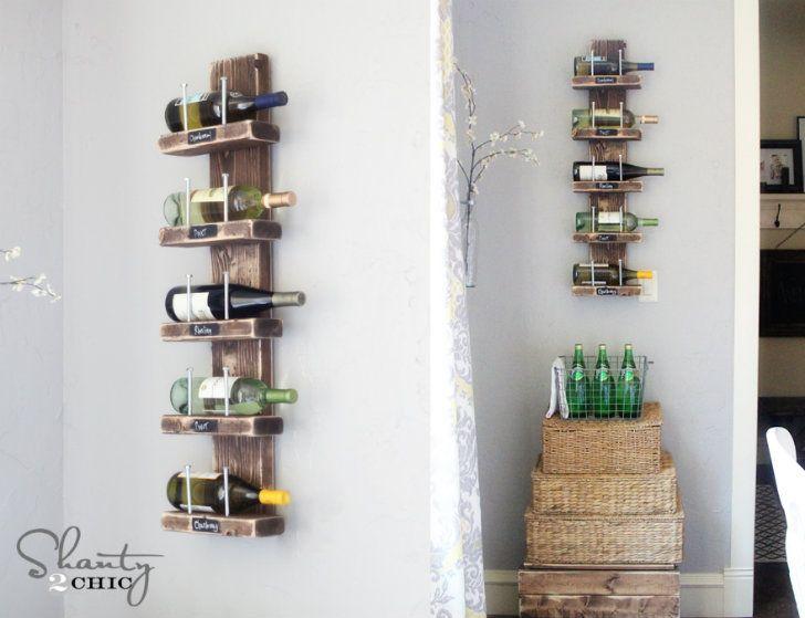 How to Make Rustic Wine Rack - DIY & Crafts