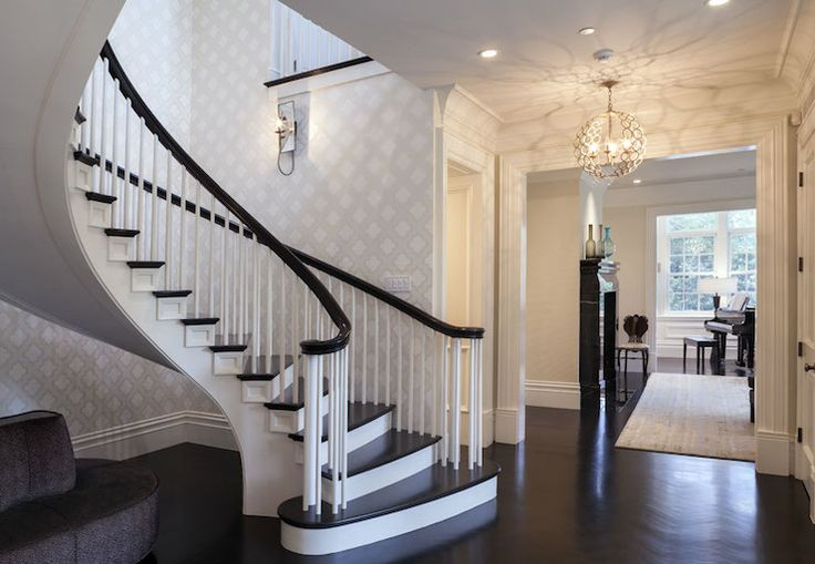 Foyer Staircase Kits : Markay johnson construction entrances foyers
