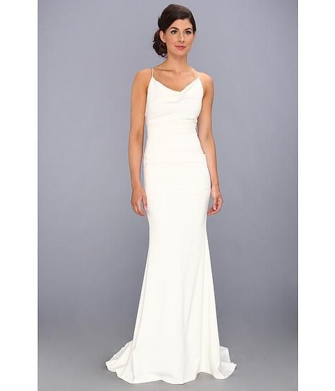 Prepare the long dresses for the upcoming prom? Then you need to see  Fascinating Holiday Hot sale 2015 New Prom Dresses Sheath Column Spaghetti strap V Neck Sweep Brush Open back Chiffon Evening Dresses DH_13 in emanuel_wedding and other prom dresses cheap uk and grecian prom dresses on DHgate.com.