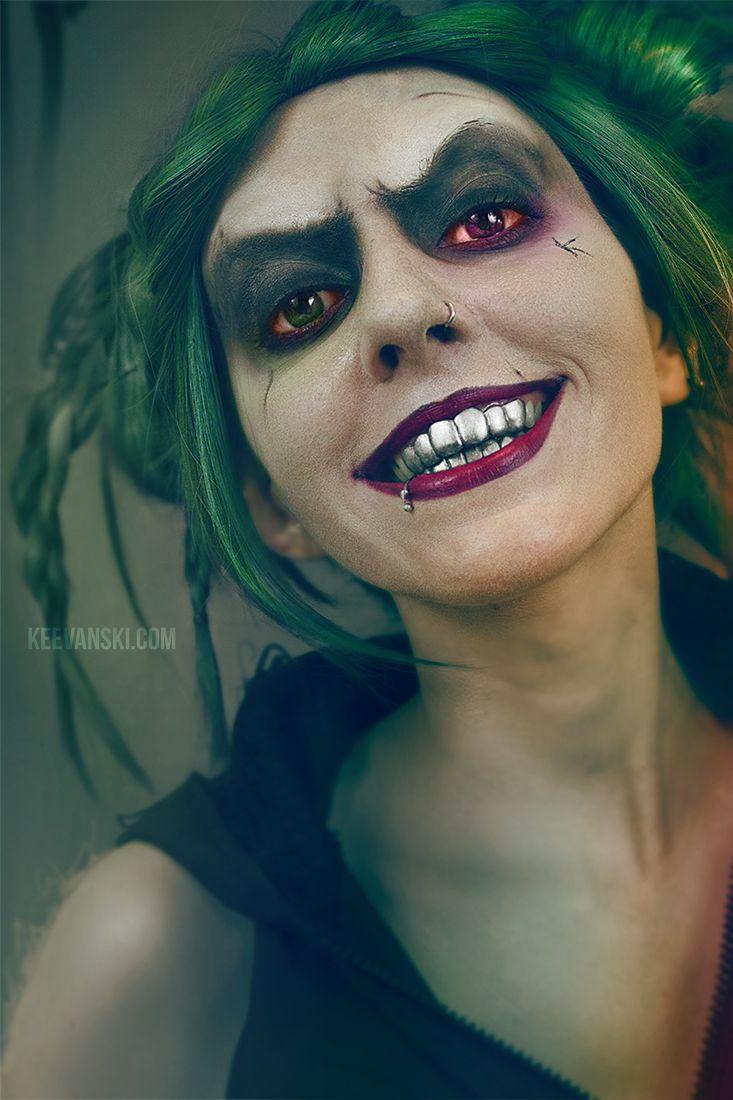 Creepy Joker Makeup Tutorial · Female Joker Version · Suicide Squad Jared Leto · Maquillaje Joker Guasón del Escuadrón Suicida · Makeup Halloween Ideas by Keevanski