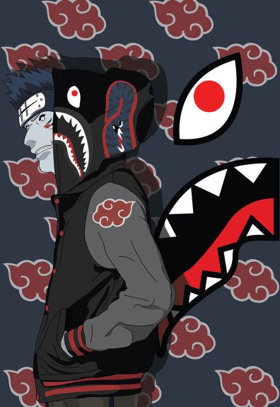 "Young artist Abi presents his new ""Child Hood"" series, in which his favorite childhood cartoon characters meet his favorite brand, BAPE. Characters from Pokemon, Dragon Ball Z, One Piece and Naruto receive alternate costumes in the form of BAPE shark hoodies – an item that has become iconic in the Japanese brand's collection over the …"