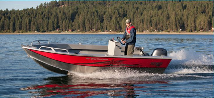 New 2012 Hewescraft 160 Open Fisherman Multi-Species Fishing Boat