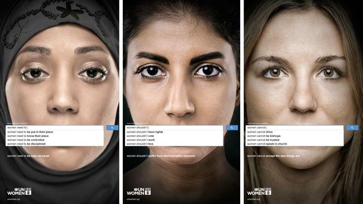 UN Women uses a simple Google feature to show sexist attitudes hiding in plain sight.