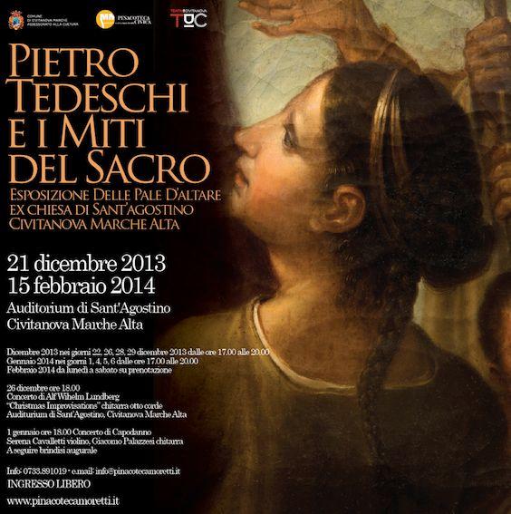 Una mostra d'arte, allestita fino al 15 febbraio, che porta in primo piano le tavole liturgiche dell'ex chiesa di Sant'Agostino http://ow.ly/rXB7k