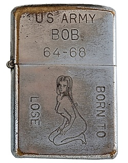 Vietnam-Era Zippos Engraved With Soldier's Personalities
