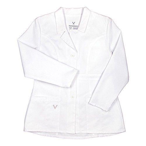 Vestex Professionals Women's Missy Fashion Lab Coat Xxx-Large White