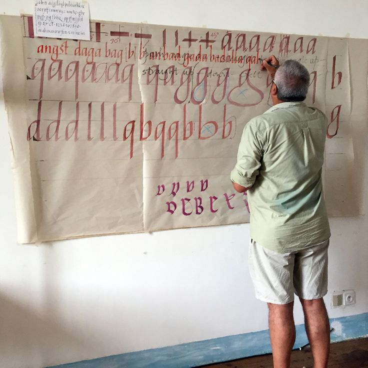 Last August 2015 I attended a calligraphy workshop in Saint Antoine l'Abbaye (France) under the tuition of Keith Adams. The course started on a Monday night and finished the following Sunday, spending an avarage of 8 hours a day writing Italic calligraphy. I have done may calligraphy courses in the past, and I have to …