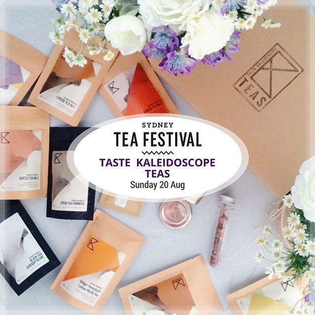 Super excited about being one of the exhibitors @sydneyteafestival this year! We will be showcasing our best teas, including all the favourites and some new brews! 🌿🌿🌿 Hope to see you there!! - - - #organictea #herbaltea #spicedtea #greentea #orangepekoe #minttea #ginger #rose #relaxation