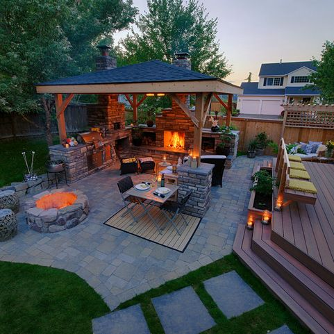 McAravey Property - outdoor living has it all a few steps from indoors | Paradise Restored | Portland, OR | paradiserestored.com