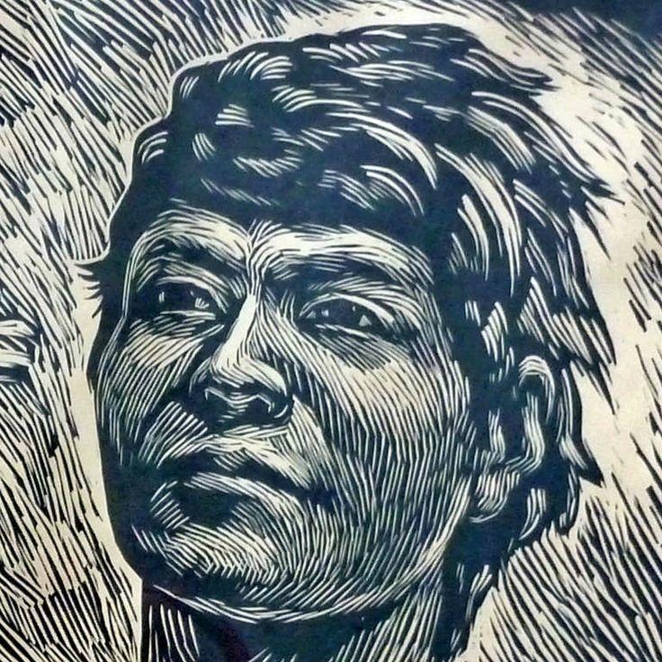 Leopoldo Mendez, Fusilamiento (Firing Squad) Linoleum Cut Print image 3