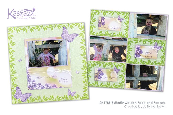 2H1789 Butterfly Garden Page and Pockets - running this workshop on Wednesday 10th February, 2016.