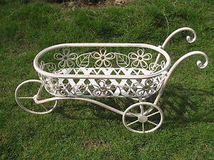 Small Decorative Wheelbarrow