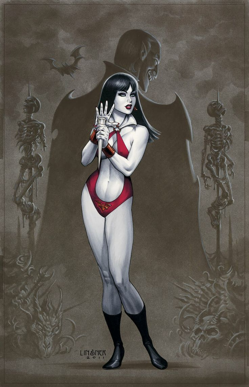 Vampirella by Joe Linsner
