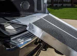 Trifold Portable wheelchair ramps for Vans, Trucks or SUV's.