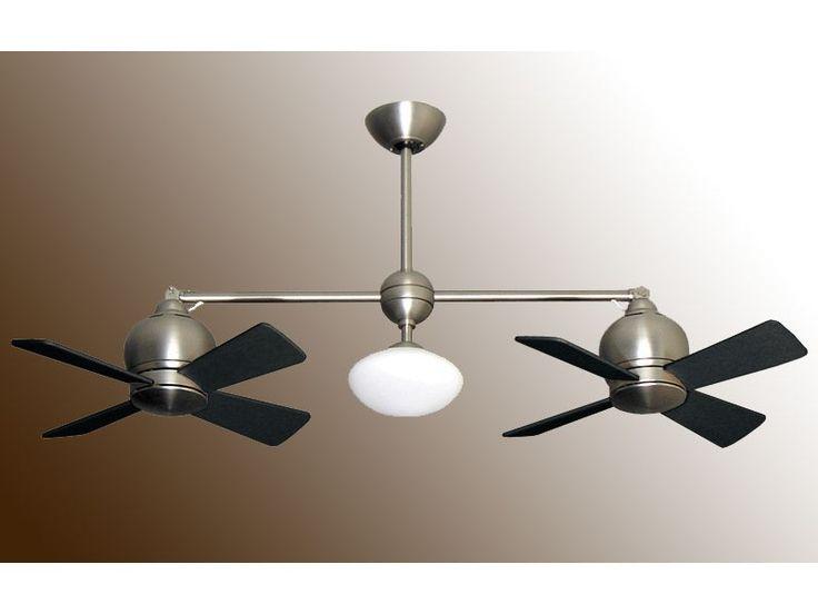 Best Dual Headed Ceiling Fan Images On Pinterest Ceilings