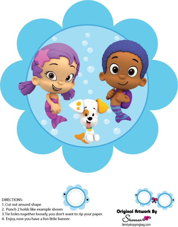 17 best images about bubl guppies on pinterest free printable bubble guppies birthday and - Bubble guppies birthday banner template ...