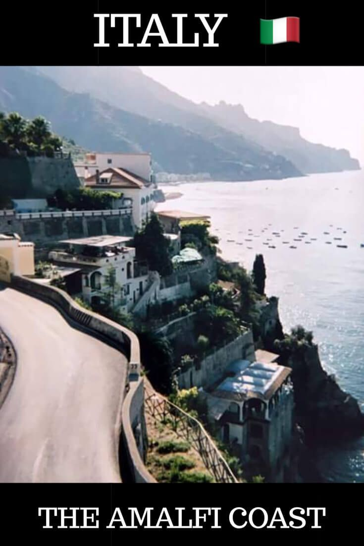A guide to visiting the Amalfi Coast in Italy one of the world's most stunning coastline. Travel to this Italian destination and enjoy beautiful towns along the Amalfi Coast. #Italy #Amalfi #Ravello #Positano